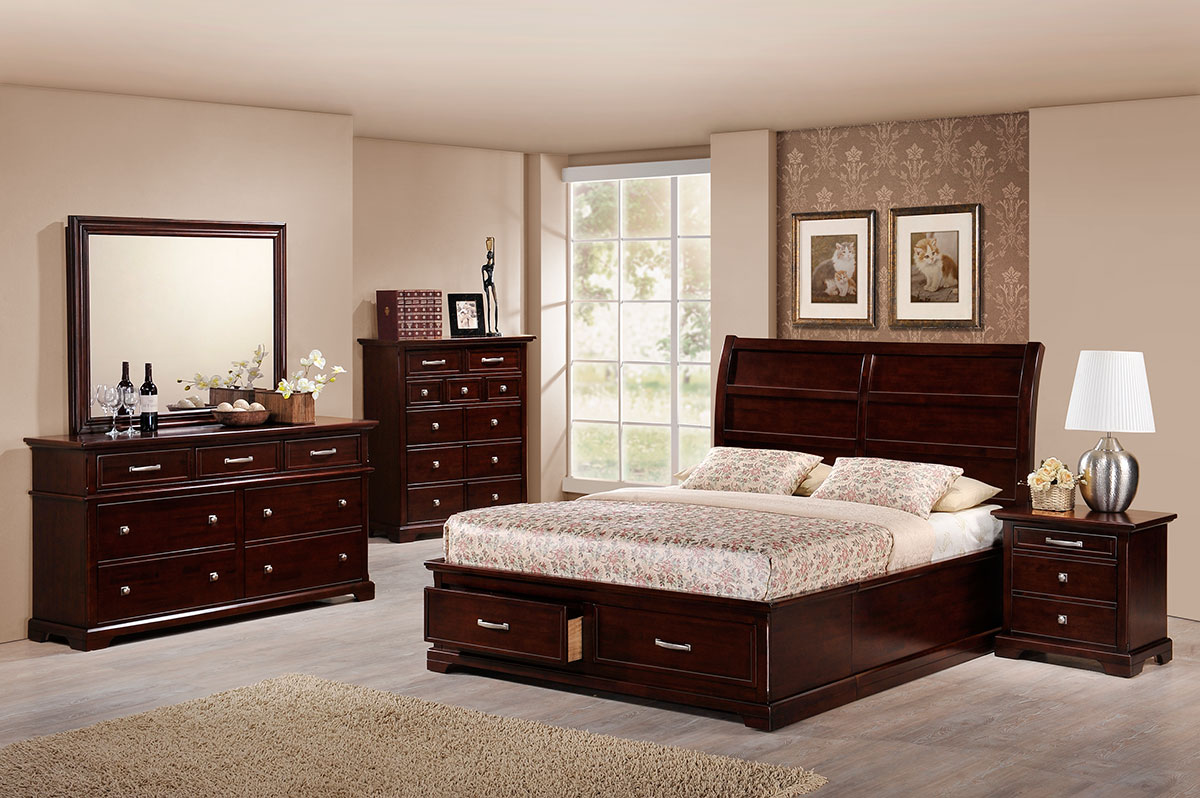 168 Bedroom Set (5PCS) - Bedroom - Collection - Ker Global Furniture (M) Sdn Bhd