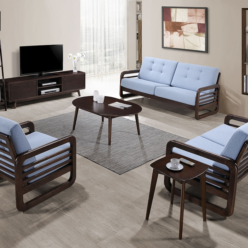 206 Sofa Set (1+2+3) with TV Unit & Occasional Set - Occasional - Collection - Ker Global Furniture (M) Sdn Bhd