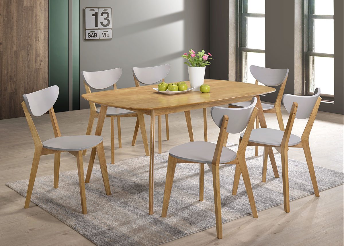 5066 Serpens Dining Set (1+6) - Dining Room - Collection - Ker Global Furniture (M) Sdn Bhd