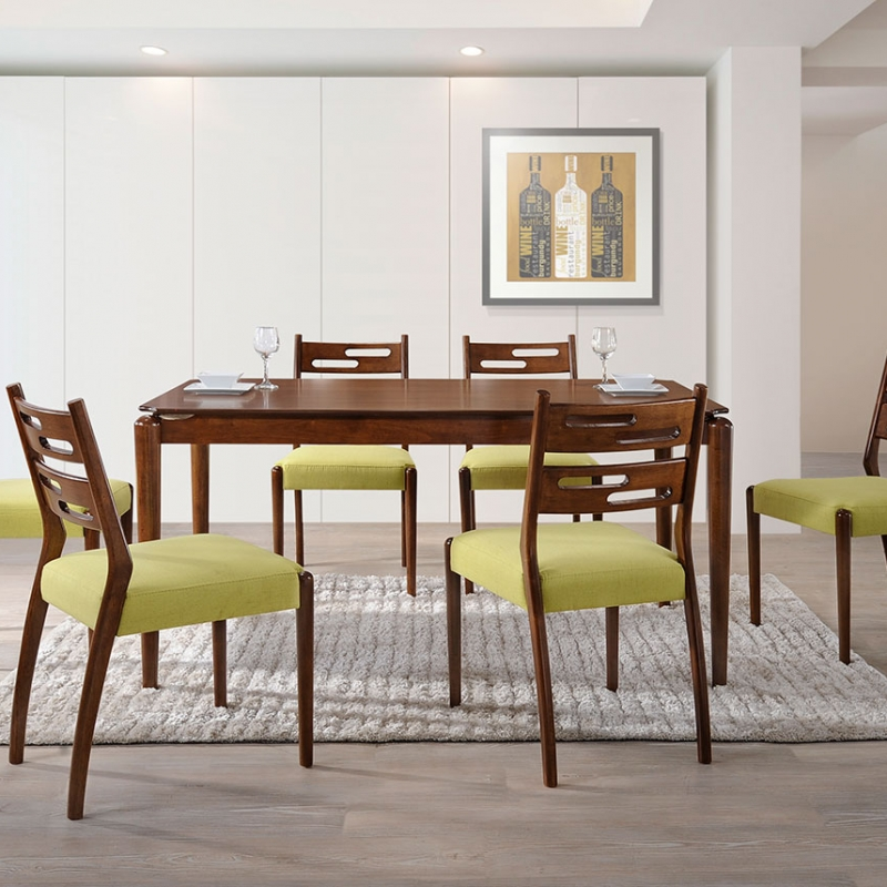 5195 Makenzie Dining Set(1+6) - Dining Room - Collection - Ker Global Furniture (M) Sdn Bhd