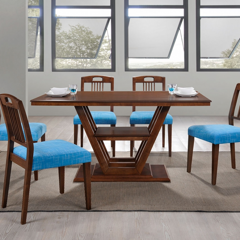 5210 Avery Dining Set(1+6) - Dining Room - Collection - Ker Global Furniture (M) Sdn Bhd