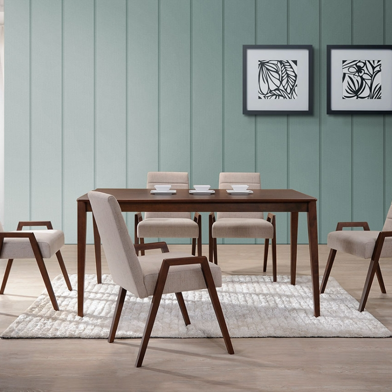5266 Mia Dining Set(1+6) - Dining Room - Collection - Ker Global Furniture (M) Sdn Bhd