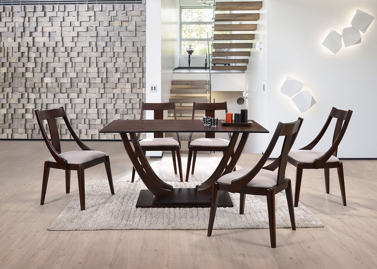 5272 Erica Dining Set(1+6) - Dining Room - Collection - Ker Global Furniture (M) Sdn Bhd