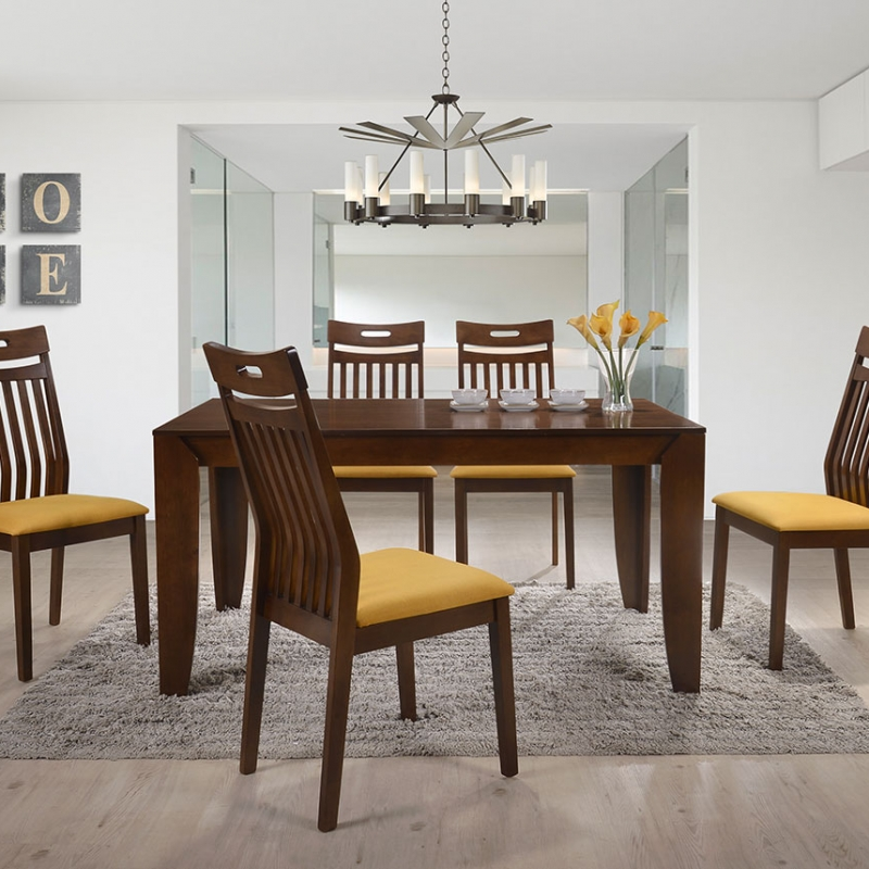 5274 Hermosa Dining Set(1+6) - Dining Room - Collection - Ker Global Furniture (M) Sdn Bhd