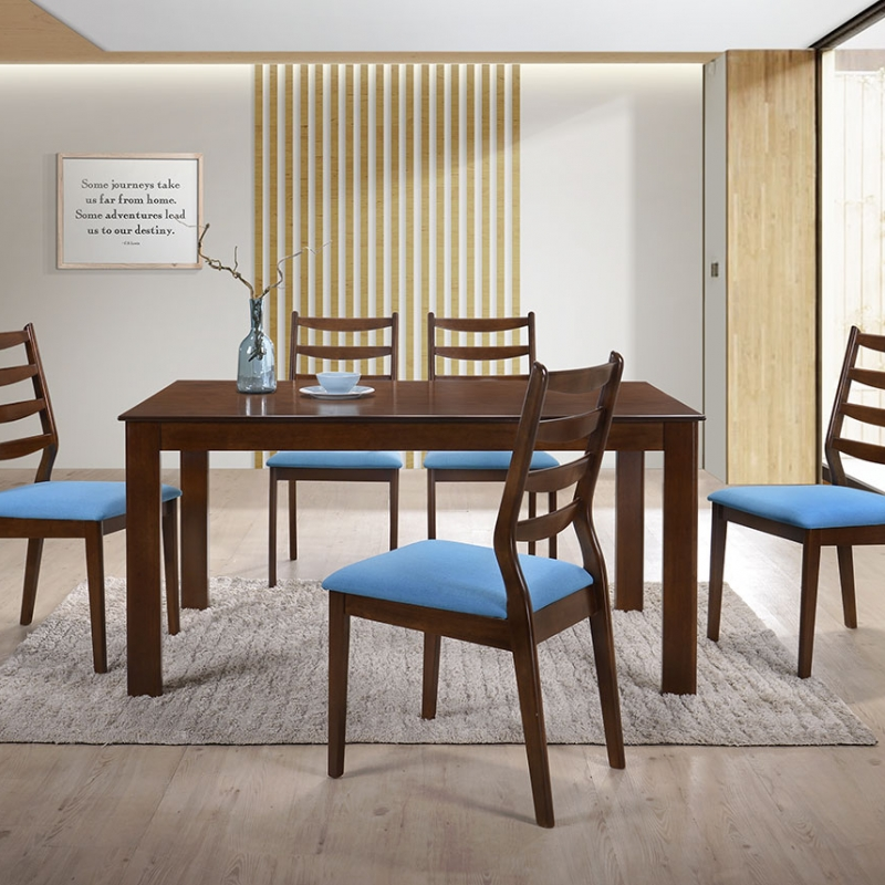 5275 Jodie Dining Set(1+6) - Dining Room - Collection - Ker Global Furniture (M) Sdn Bhd