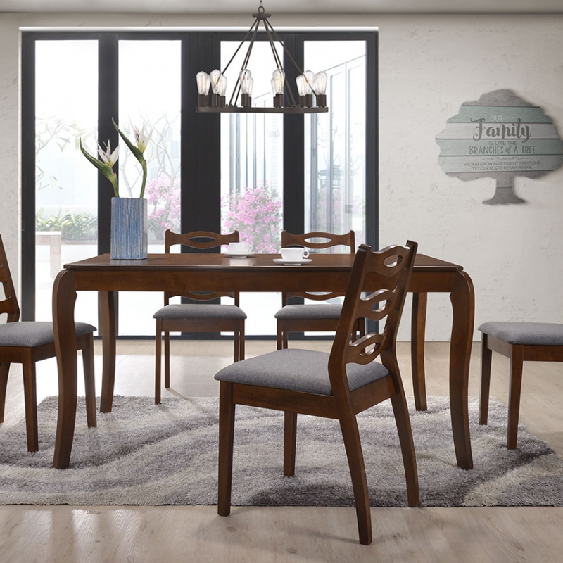 5276 Gladys Dining Set(1+6) - Dining Room - Collection - Ker Global Furniture (M) Sdn Bhd