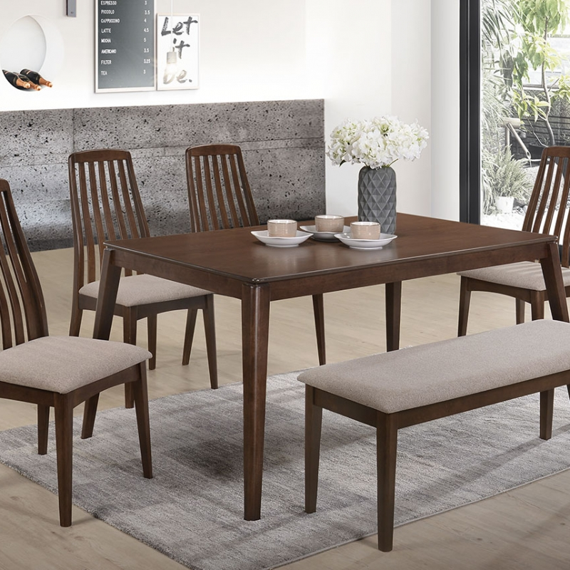 5285 Nashville Dining Set(1+1+4) - Dining Room - Collection - Ker Global Furniture (M) Sdn Bhd