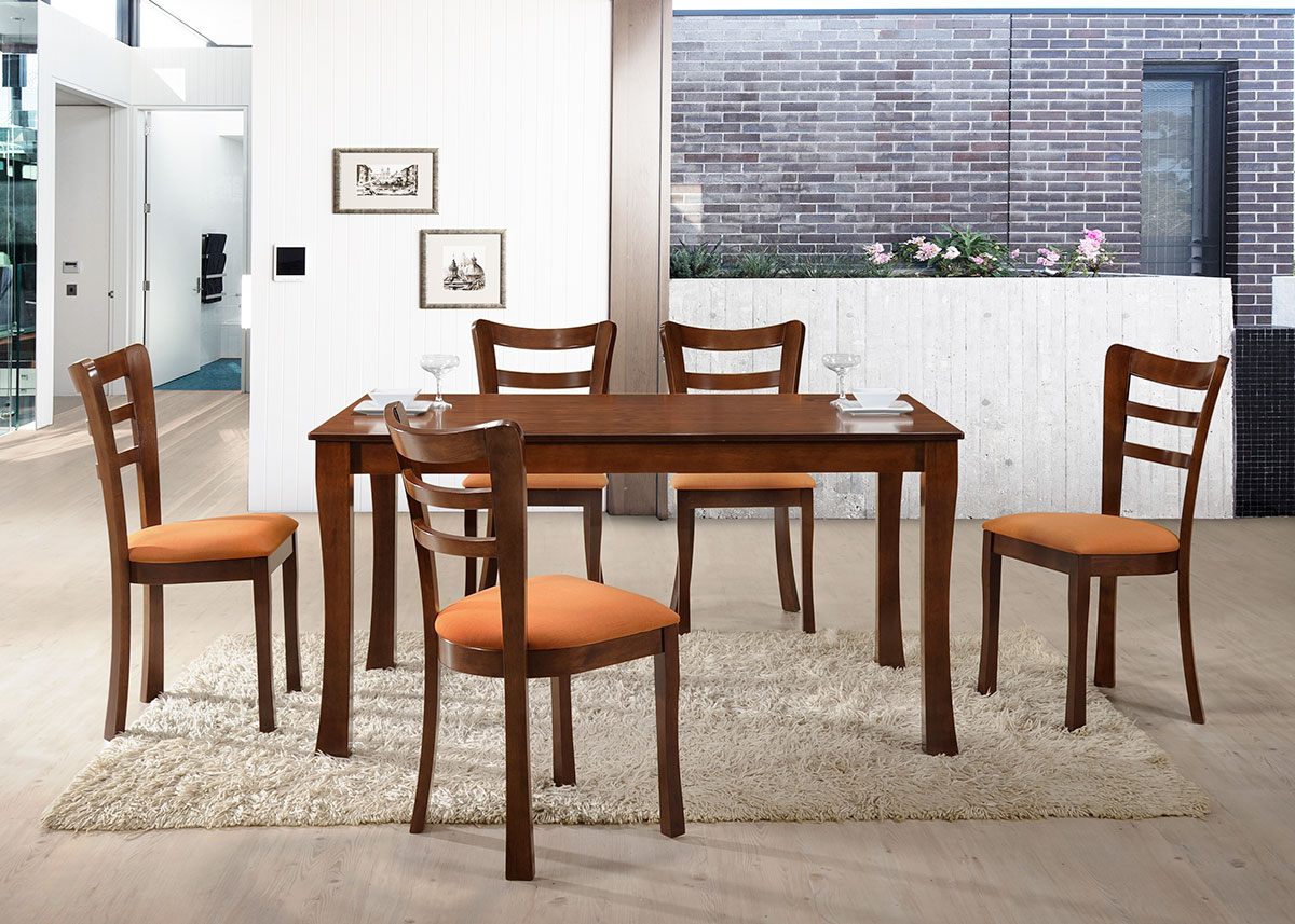 5507 Bonnie Dining Set(1+6) - Dining Room - Collection - Ker Global Furniture (M) Sdn Bhd