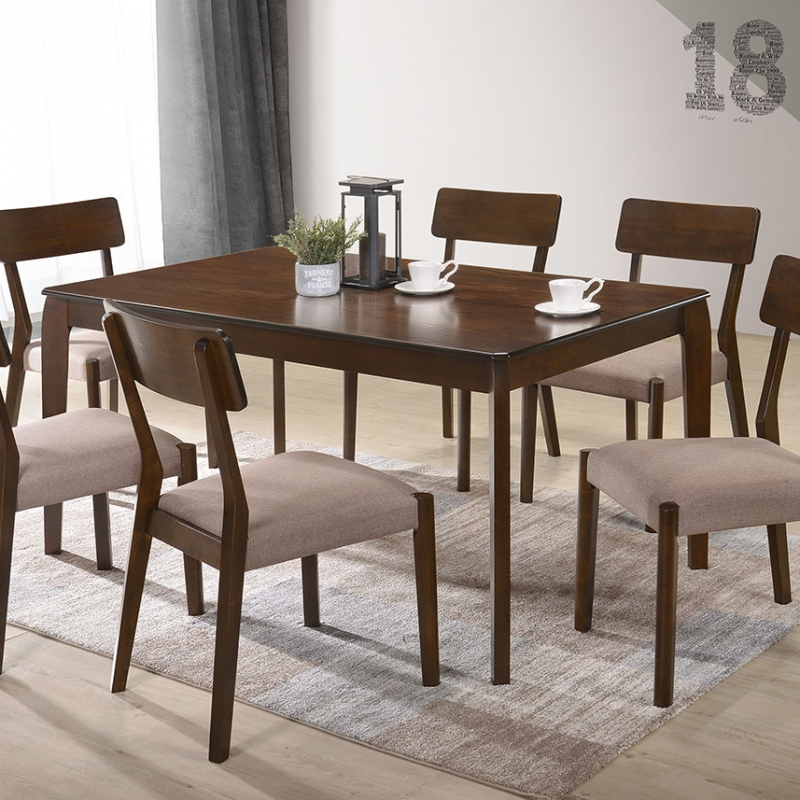 5925 Yolanda Dining Set(1+6) - Dining Room - Collection - Ker Global Furniture (M) Sdn Bhd