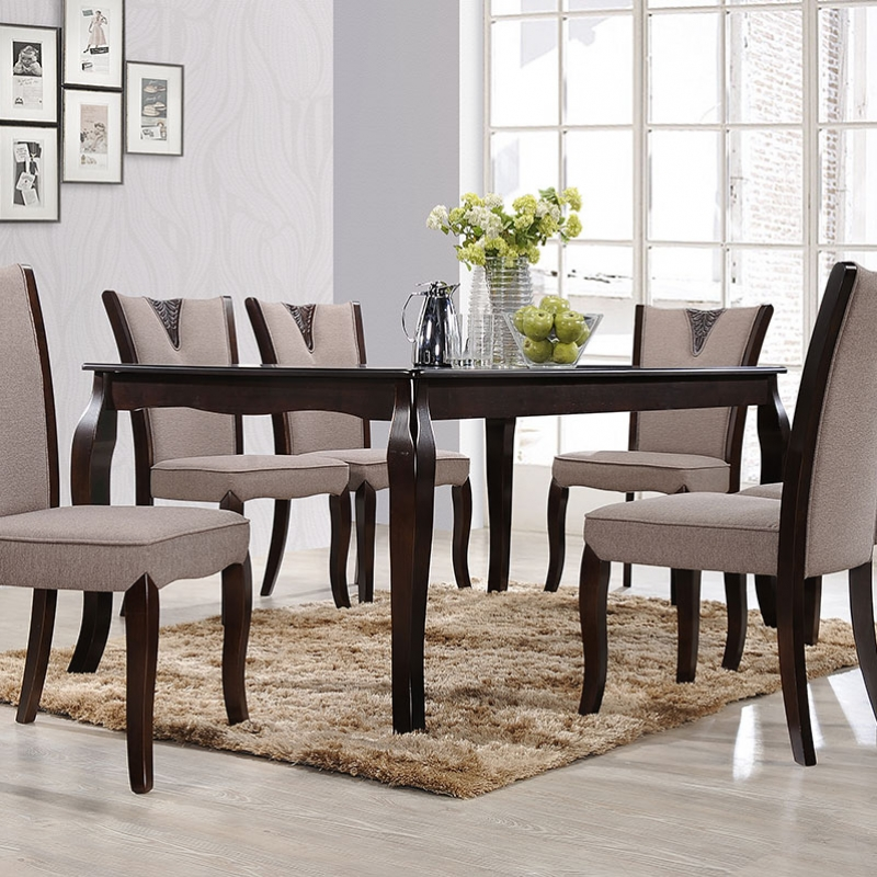 8135 Porter Dining Set(1+6) - Dining Room - Collection - Ker Global Furniture (M) Sdn Bhd