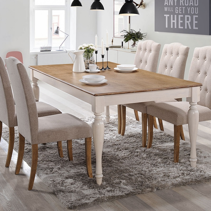 8140 Clark Dining Set(1+6) - Dining Room - Collection - Ker Global Furniture (M) Sdn Bhd