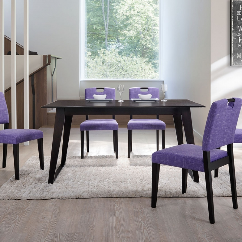 8210 Madeline Dining Set(1+6) - Dining Room - Collection - Ker Global Furniture (M) Sdn Bhd