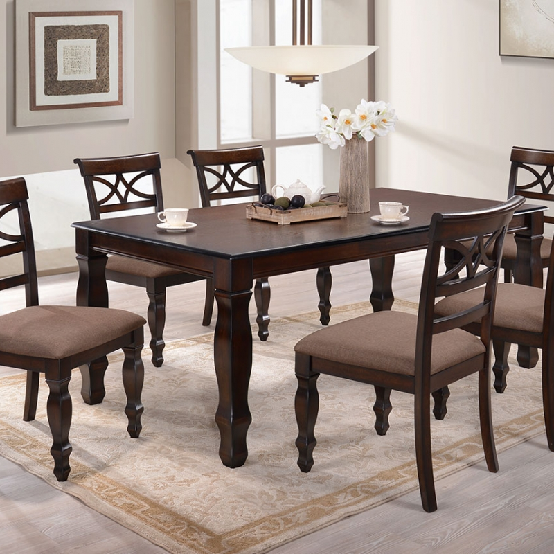 9208 Kaitlyn Dining Set(1+6) - Dining Room - Collection - Ker Global Furniture (M) Sdn Bhd