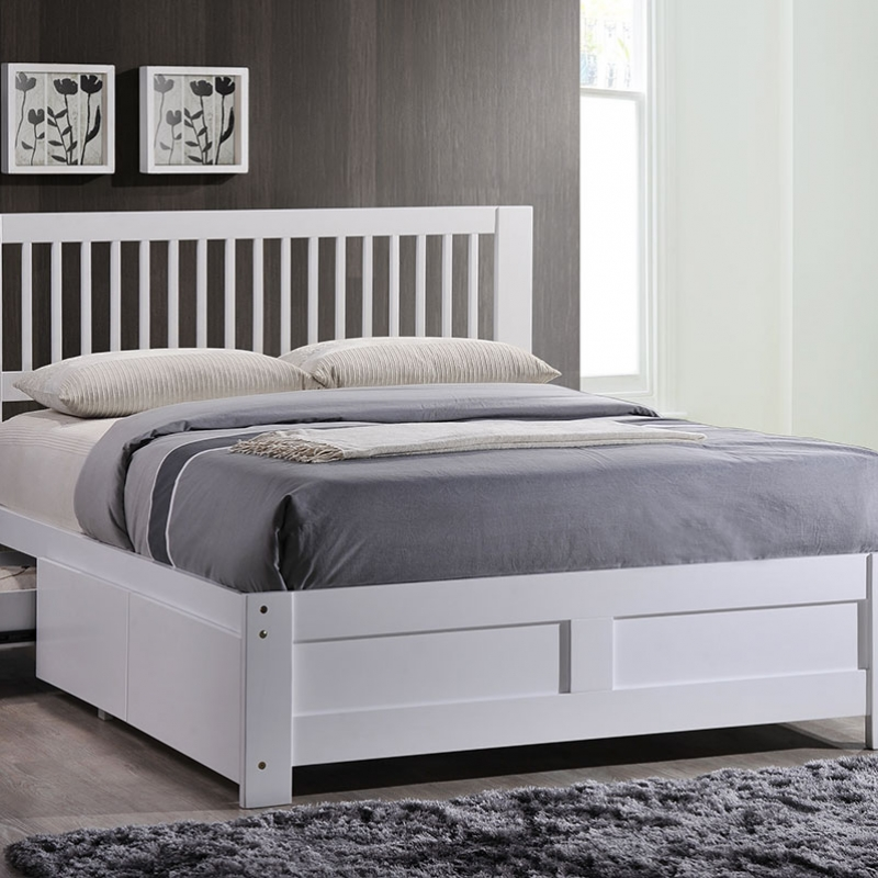 SBF-001 Storage Bed Frame with Drawer - Bedroom - Collection - Ker Global Furniture (M) Sdn Bhd